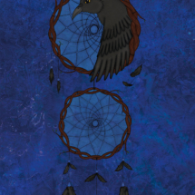 raven-dreamcatcher-illustration-raven-dromenvanger-illustratie-susanne-bot-boer-2015